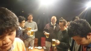 06乾杯はグループ長の催山