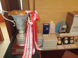 11)優勝杯・グロス戦メダル